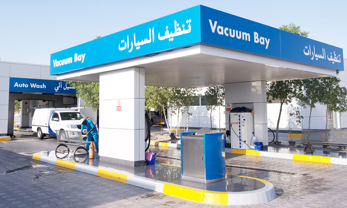 Car Wash Service Stations Fueling Adnoc Distribution